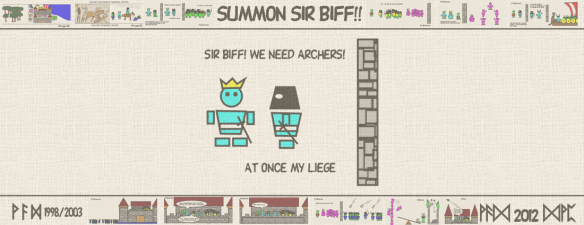 SUMMON SIR BIFF!! — Sir Biff! We need archers! At once my liege.