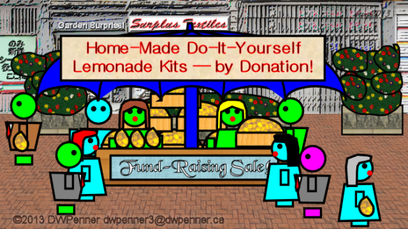 Home-Made Do-It-Yourself Lemonade Kits — by Donation!