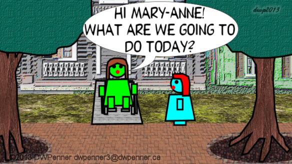 Hi Mary-Anne! What are we going to do today?