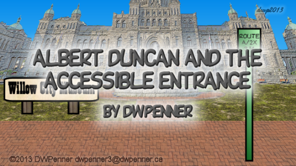 Albert Duncan and the Accessible Entrance