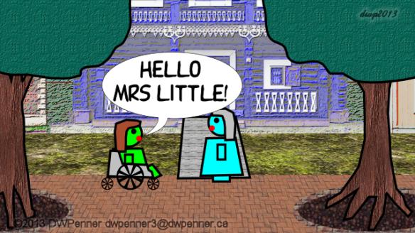 Hello Mrs Little!