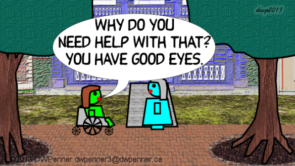 Why do you need help with that? You have good eyes.