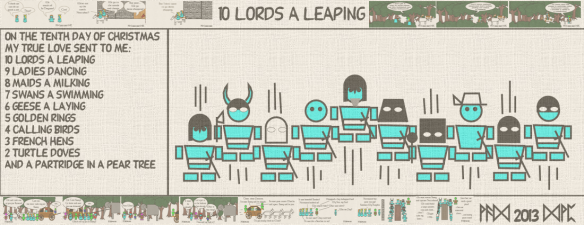 10 Lords a Leaping