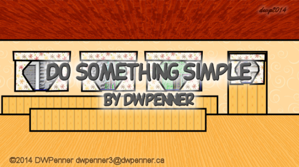 Do Something Simple 00