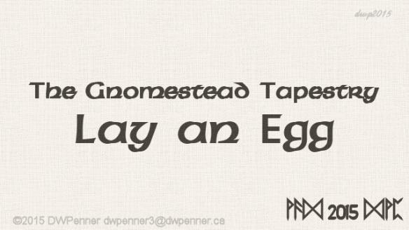 Lay an Egg 00