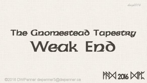 Weak End 00